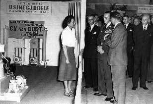 Mimi van Dort and Prince Bernhard