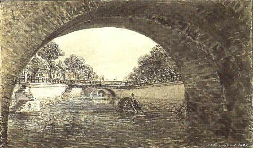 Canal in the Colombo Fort by J.L. Kalenberg Van Dort