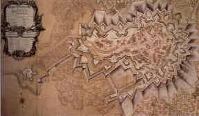 Map of Bergen op Zoom